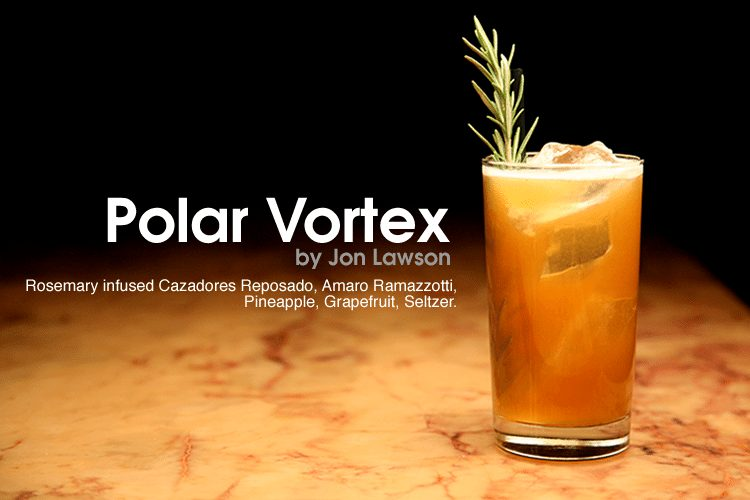 The Polar Vortex Cocktail Eat Street Social Minneapolis Minnesota