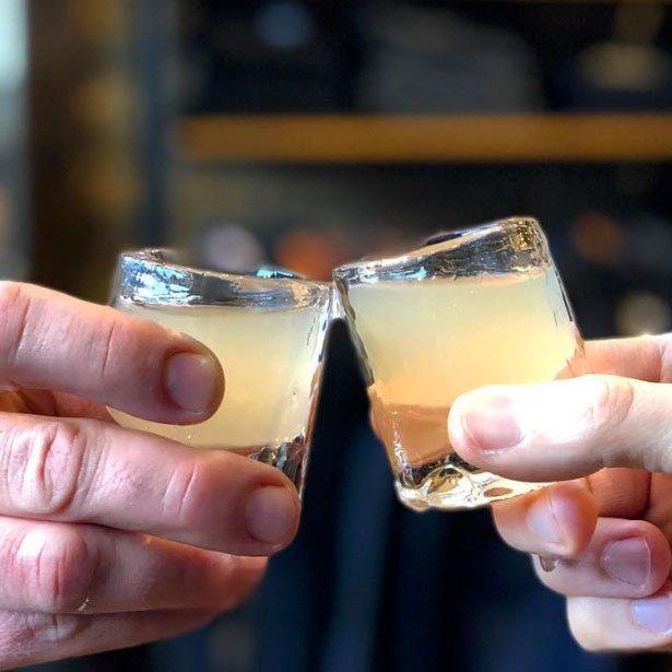 Pure & Clear Minnesota Ice - The Shot Glass